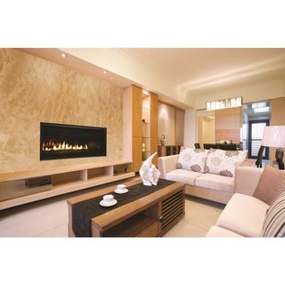 """54"""" Linear Superior Direct Vent Fireplace"""