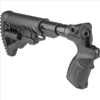 AR15/M4 Collapsible Buttstock with Shock Absorber for Mossberg 500/599
