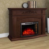Alessandra Electric Fireplace with Remote