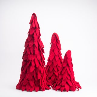 Wool Felt Nesting Trees (Set of 3)
