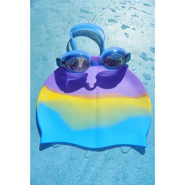 Rainbow Cap/Goggles Set