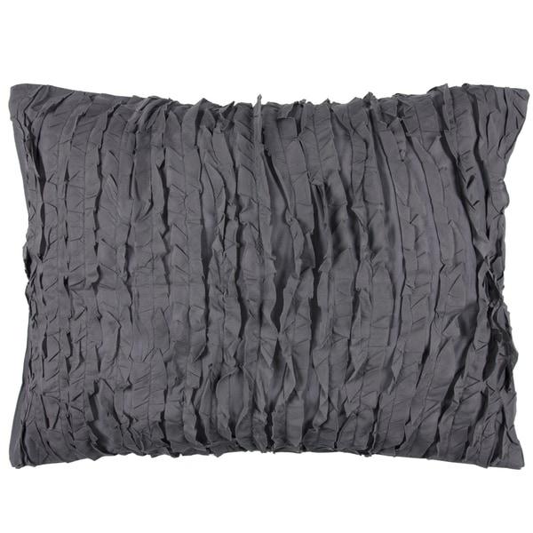 Kalyana Graphite Cotton 2-piece Sham Set by Arden Loft
