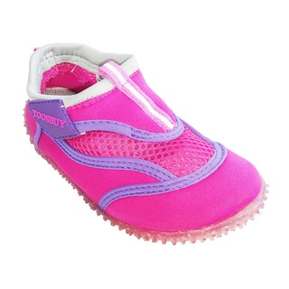 Girl's aqua shoes