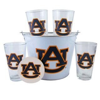 Auburn Tigers Glass Bucket and Pint Gift Set
