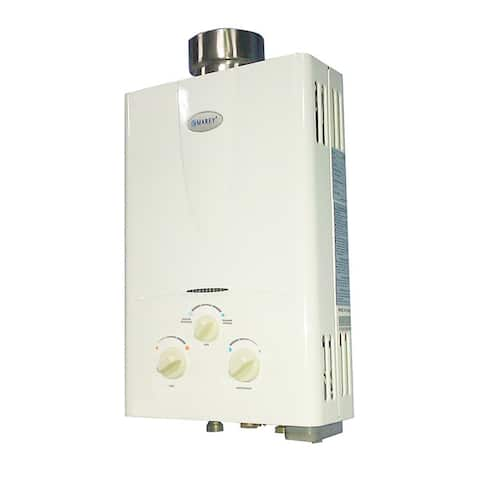 Marey 3.1 GPM Natural Gas Tankless Water Heater with Digital Panel