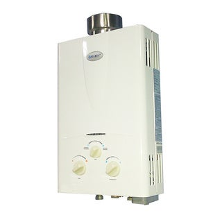 Marey Power Gas 10L Natural Gas Tankless Water Heater with Digital Panel