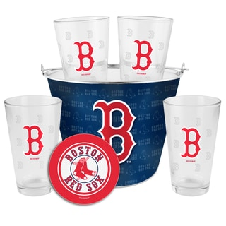 Link to Boston Red Sox Glass Bucket and Pint Gift Set Similar Items in Fan Shop