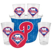 Philadelphia Phillies Glass Bucket and Pint Gift Set