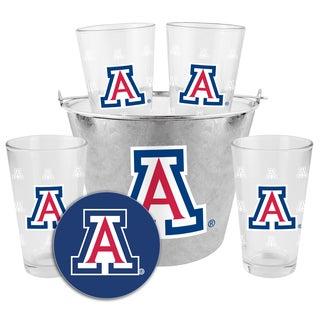 Arizona Wildcats Glass Bucket and Pint Gift Set