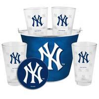 New York Yankees Glass Bucket and Pint Gift Set