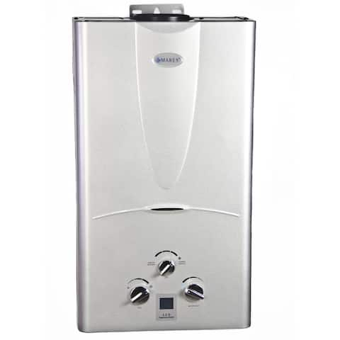 Marey 3.1 GPM Liquid Propane Tankless Water Heater with Digital Panel