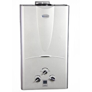 Marey Power Gas 10L Liquid Propane Tankless Water Heater with Digital Panel