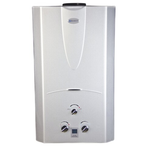 Marey Power Gas 16L Liquid Propane Tankless Water Heater with Digital Panel