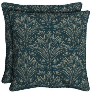 Bombay Outdoors Royal Zanzibar Reversible Oversize Toss Cushion Pillows (Set of 2)