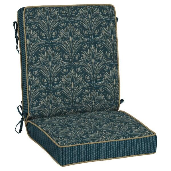 Bombay Outdoors Royal Zanzibar Reversible Chair Cushion