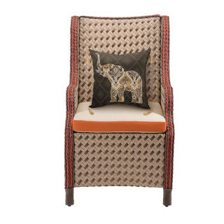 Bombay Outdoors Hanalei Paprika Wing Chair