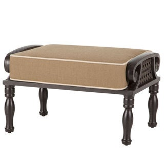 Bombay Outdoors Glenburn Mocha Ottoman