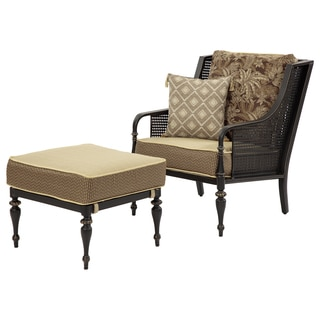 Bombay® Outdoors Sherborne Palmetto Chair & Ottoman Set