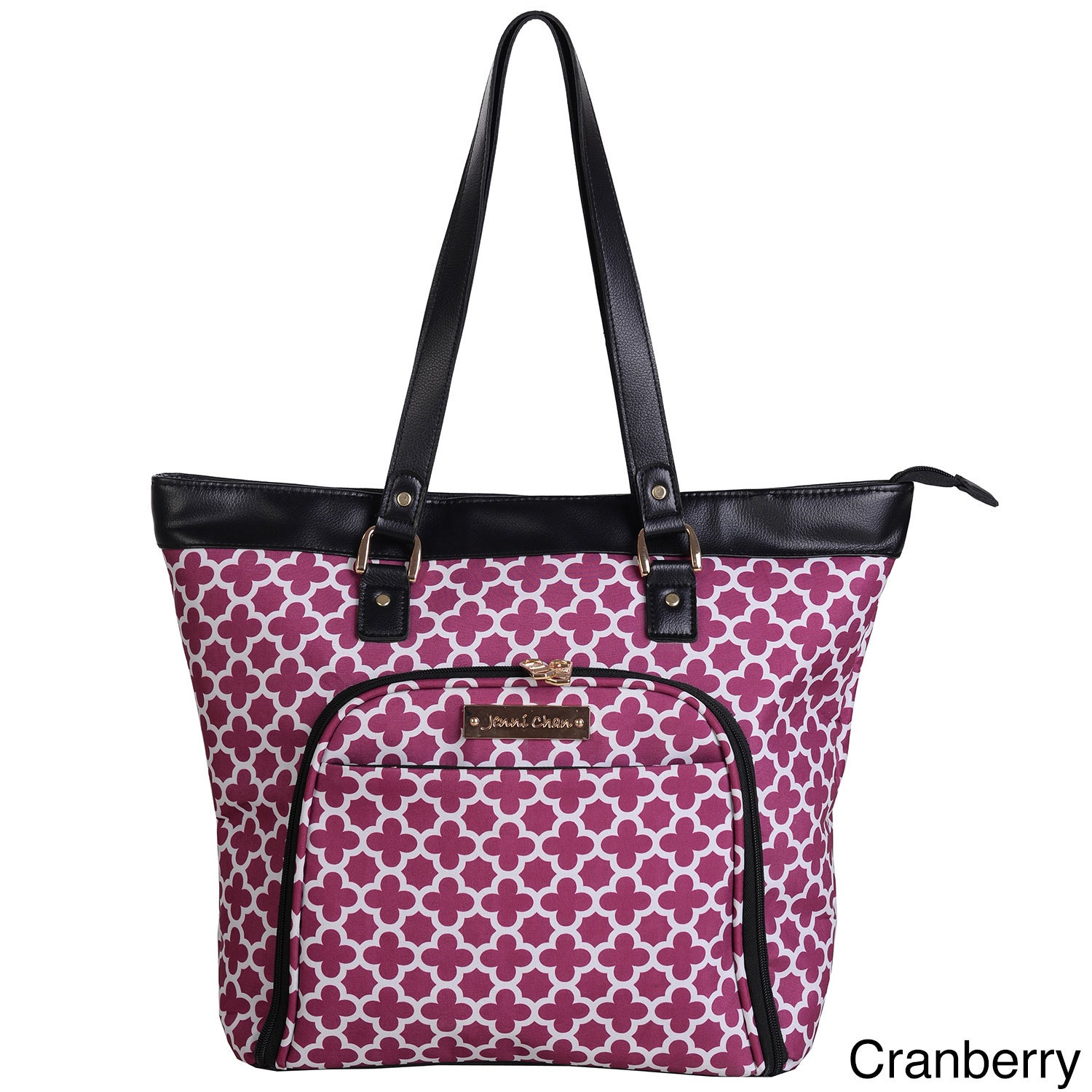 Jenni Chan Aria Broadway 18-inch Laptop and Tablet Tote B...