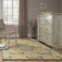 """Momeni Newport Yellow Hand-Tufted Wool Runner Rug (2'3 X 8') - 2'3""""x8'"""