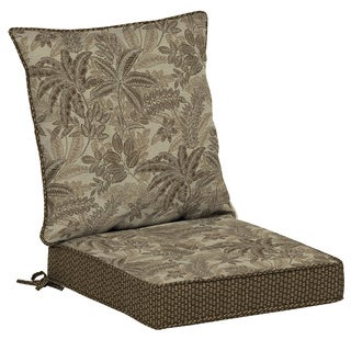 Bombay® Outdoors Palmetto Mocha Reversible Dining Cushion Set