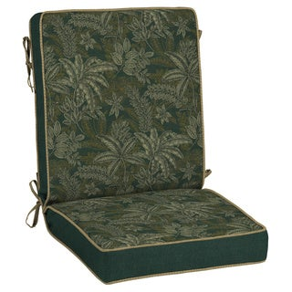 Bombay Outdoors Palmetto Green Reversible Chair Cushion