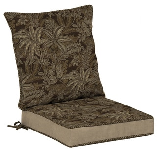 Bombay Outdoors Palmetto Espresso Reversible Dining Cushion