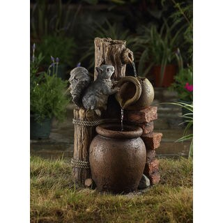Multi-tier Pots Water Fountain