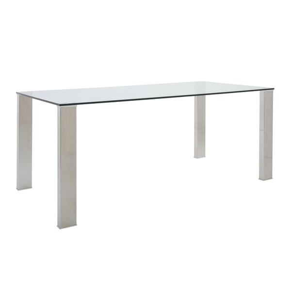 Beth Dining Table Free Shipping Today Overstockcom  : Beth Dining Table Clear Stainless Steel 9b4ef3a8 5f61 49b9 9d2a 5ae4db2145dc600 from www.overstock.com size 600 x 600 jpeg 5kB