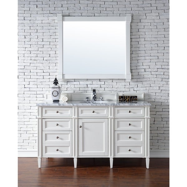 how to install bathroom cabinets 60 inch single vanity cabinet cottage white 23426