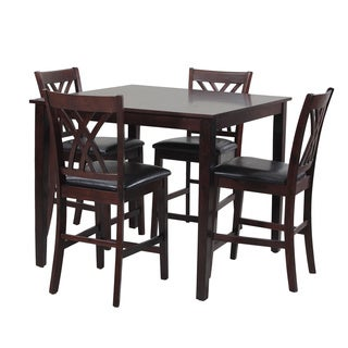 Powell Raleigh Counter Height 5-Pieced Dining Group