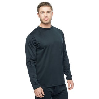 Kenyon Men's 'Power Wool' Long-Sleeve Crew Neck Shirt
