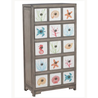 Powell Heidi 5 Drawer Storage Cabinet