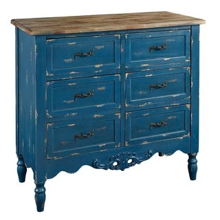 Powell Hope Blue Hall Chest