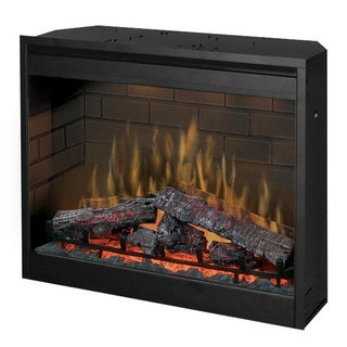 Black Metal 30 Inch Wide Electric Firebox Insert 16409287 Shopping Great