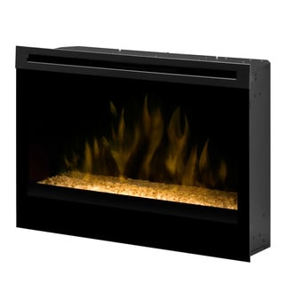 "Dimplex North America 33"" Self-Trimming FireBox Glass Ember Bed"