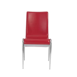 Grace Red Side Chairs (Set of 4)