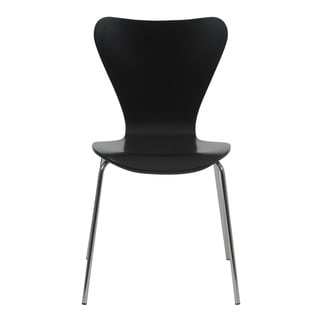 Tendy Black Side Chairs (Set of 4)