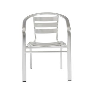 Sadie Arm Chair (Set of 6) - Aluminum