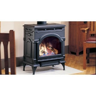 Majestic Oxford Free Standing Direct Vent Cast Iron Stove