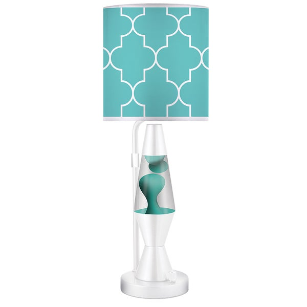 Shop 19-inch Aqua Lava Plus 2.0 Table Lamp - Free Shipping ...
