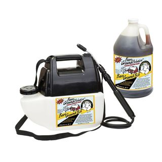 Battery Powered Sprayer and 1-gallon Calcium Chloride Liquid Cacl2