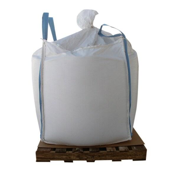 2000-pound Skidded Supersack of Coated Granular Ice Melt - White