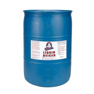 55-gallon Drum of Bare Ground Deicer