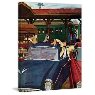 Marmont Hill - Cramped Parking by Richard Sargent Painting Print on Canvas