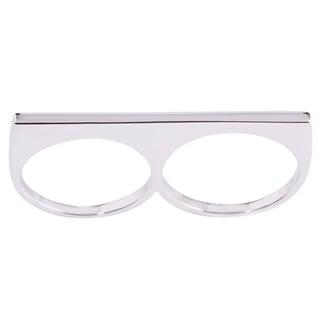 La Preciosa Sterling Silver Two-Finger Bar Ring