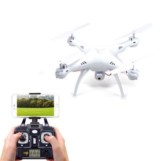 Draco Smart Drone Kit with HD Video Camera, FPV Live Streaming, and Remote Controller