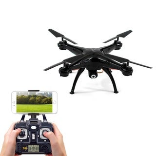 Nucleus Smart Drone Kit with HD Video Camera, FPV Live Streaming, and Remote Controller