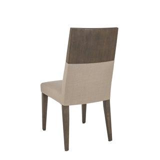 Zenn Sunpan Camila Linen Fabric Dining Chair (Set of 2)