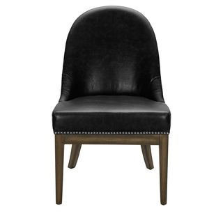 Sunpan '5West' Liana Leather and Linen Dining Chair